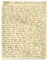 Letter from William Winchester to James Winchester
