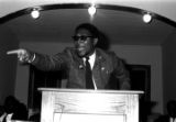 Thumbnail for Richard Boone speaking to an audience at First Baptist Church in Eutaw, Alabama.