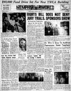 Memphis World, 1957 April 3rd