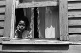 Jasper Wood Collection: Child looking out of window