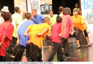Young Performers on Stage Hip Hop Broadway: The Musical
