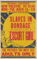Gem Theaters feature film, Slaves in Bondage and Escort Girl