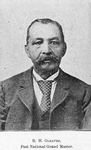 Richard Howell Gleaves, Past National Grand Master; [The most distinguished Colored Mason in the United States.]