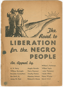 The Road to Liberation for the Negro People
