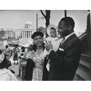 Thumbnail for Martin Luther King, Jr., wife Coretta Scott King, and their daughter Yolanda