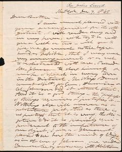 Letter from Joshua Leavitt, New York, to Amos Augustus Phelps, Dec. 7, 1840