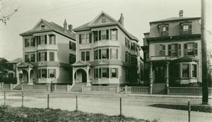 Huse House on Moore St.[?] and Dale Street, Roxbury, Mass., undated