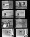 Set of negatives by Clinton Wright including talent show at Doolittle, and Nat Johnson's baby, 1966