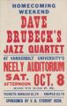 Dave Brubecks Jazz Quartet at the Neely Auditorium (Oct 8)