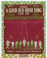 Sing a good old Irish song for me