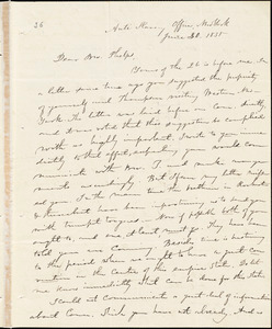 Letter from Elizur Wright, New York, to Amos Augustus Phelps, 1835 June 30