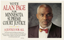 Alan Page campaign advertisement
