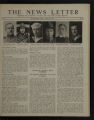 The News Letter (Plymouth Church, Minneapolis, Minnesota) Volume 1, Number 10