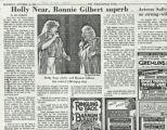 Holly Near, Ronnie Gilbert superb