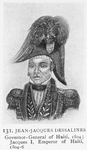 Jean-Jacques Dessalines; Governor-General of Haiti, 1804; Jacques I, Emperor of Haiti, 1804-6
