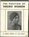 The Position of Negro Women