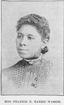Mrs. Frankie E. Harris Wassom. Teacher and Poetess