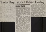 Lady Day about Billie Holiday