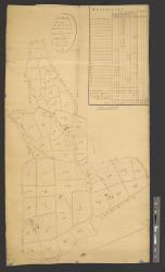 A plan of the estates of the right honorable James Lord Cranstoun situate in the parishes of St. Paul & St. Anne, in the island of St. Christopher : Surveyed in 1805 / by Jas. McMahon.