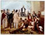American slave market