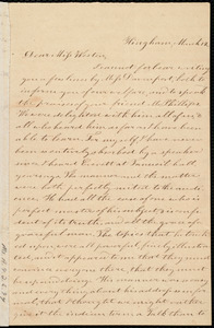 Letter from Evelina A. S. Smith, Hingham, [Mass.], to Caroline Weston, March 12, [1845?]