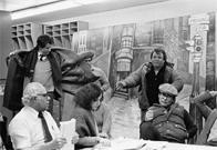 "Meeting with producers of the film ""Fort Apache, The Bronx,"" 1980"