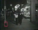 WALB newsfilm clip of African Americans arrested for participating in a night march, Albany, Georgia, 1962 July 21