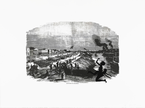Occupation of Alexandria, from the portfolio Harper's Pictorial History of the Civil War (Annotated)