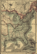 Wyld's military map of the United States, the northern states, and the southern confederate states: with the forts, harbours, arsenals, and military positions