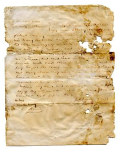 Agreement for E.M. Pease's purchase of slave named Mary Ann from J.M. Prewitt