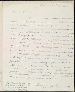 Letter from Amos Farnsworth, Groton, [Mass.], to Anne Warren Weston, 24 May 1839