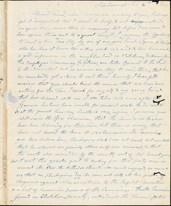 Letter from Experience Billings, Foxborough, [Massachusetts], to Maria Weston Chapman, 1842 Jan[uary] 4
