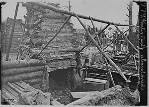 Abandoned Winter Camp