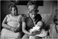 Women and Baby