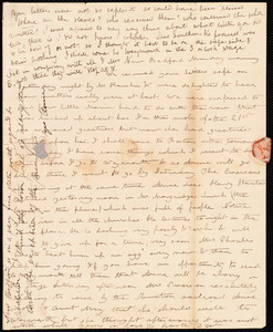 Letter from Deborah Weston, [New Bedford, Mass.], to Caroline Weston, [not before 1835 Oct. 21]