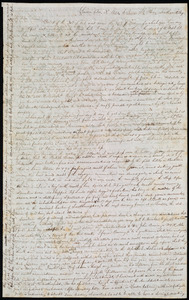 Letter from John Anderson Collins, London, [England], to Maria Weston Chapman, Dec. 3'd, 1840