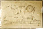 Drawing of Globe-type Electrostatic Machine