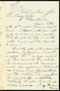 Letter from William Still, Philadelphia, to Samuel May, Mar. 7 / 60
