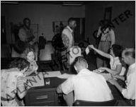 Voting, circa 1947