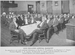 Odd Fellows annual banquet; In attendance are such national characters as Booker T. Washington, Ex-Register J.C. Napier, former Register J.D. Lyons, Ex-Recorder of Deeds Lincoln Johnson, The local Grand Master, and others equally well known