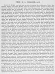 Prof. H. L. Walker [verso]