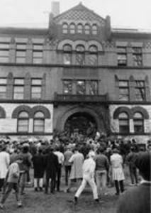 Occupation of Hopkins Hall by African-American students, 1969
