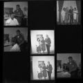 Set of negatives by Clinton Wright including Voice Essay Contest Winners, Earl's, and Women Demonstration West installation, 1967