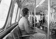 Man on bus, Atlantic City