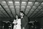 Coretta Scott King and Dexter Scott King at the Podium