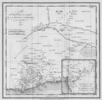 Carte des Decouvertes en Afrique de la Mission A Ashienty par Bowdich