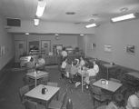 Lunchroom of the First National Bank of Montgomery in downtown Montgomery, Alabama.