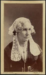 Carte-de-visite portrait of Mary Ann Donaldson