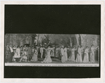 "Scene from Act II of Williams and Walker's ""In Dahomey,"" at the New York Theater, 1903"