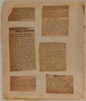 Florence G Sammet Rothschild Scrapbook, 1908, page 45